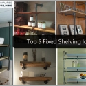 Top Five Shelving Ideas (and how to DIY)