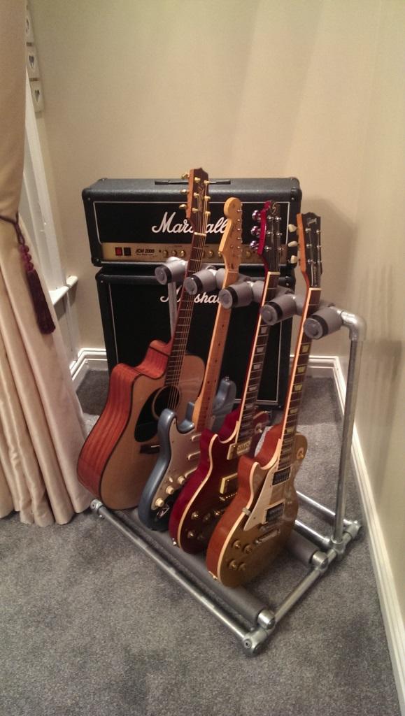 Diy Kee Klamp Guitar Stand Blog