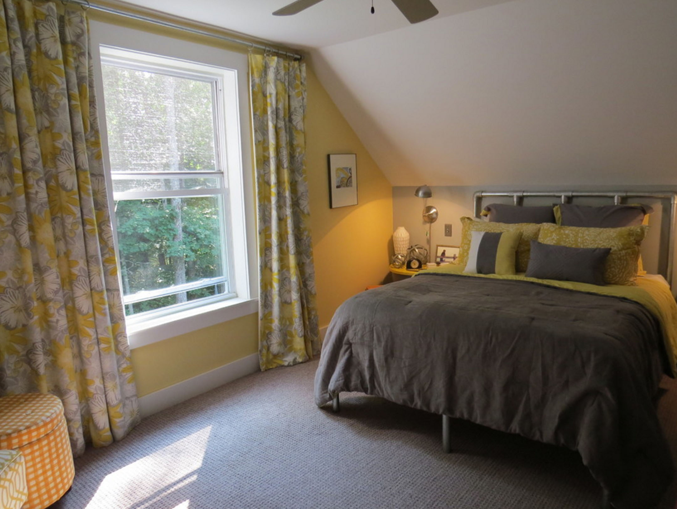Master Bedroom Renovation: DIY Kee Klamp Bed Photo Gallery