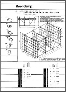 DIY steel storage unit