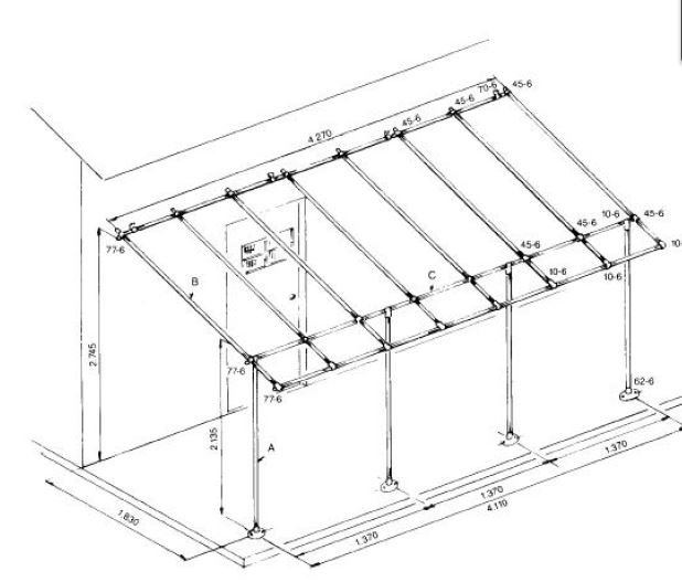 awning frame