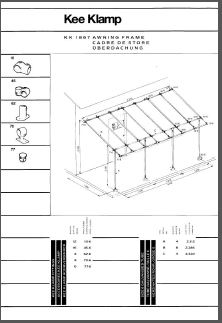 awning guide