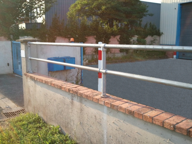 Installation de la barrière