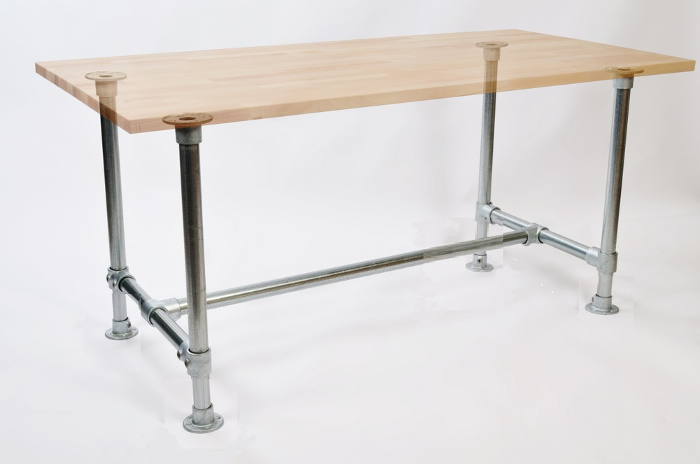 Build Your Own Diy Table Or Desk Frame To Suit Any Table