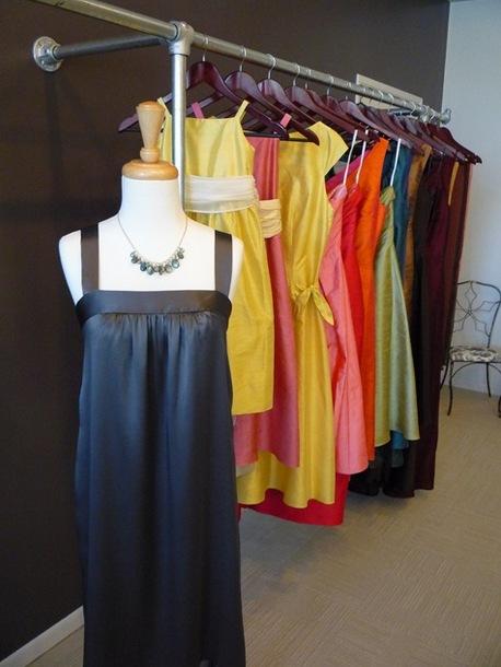 bridal clothing rail