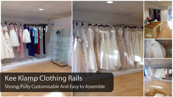 Strong and custom clothing rails