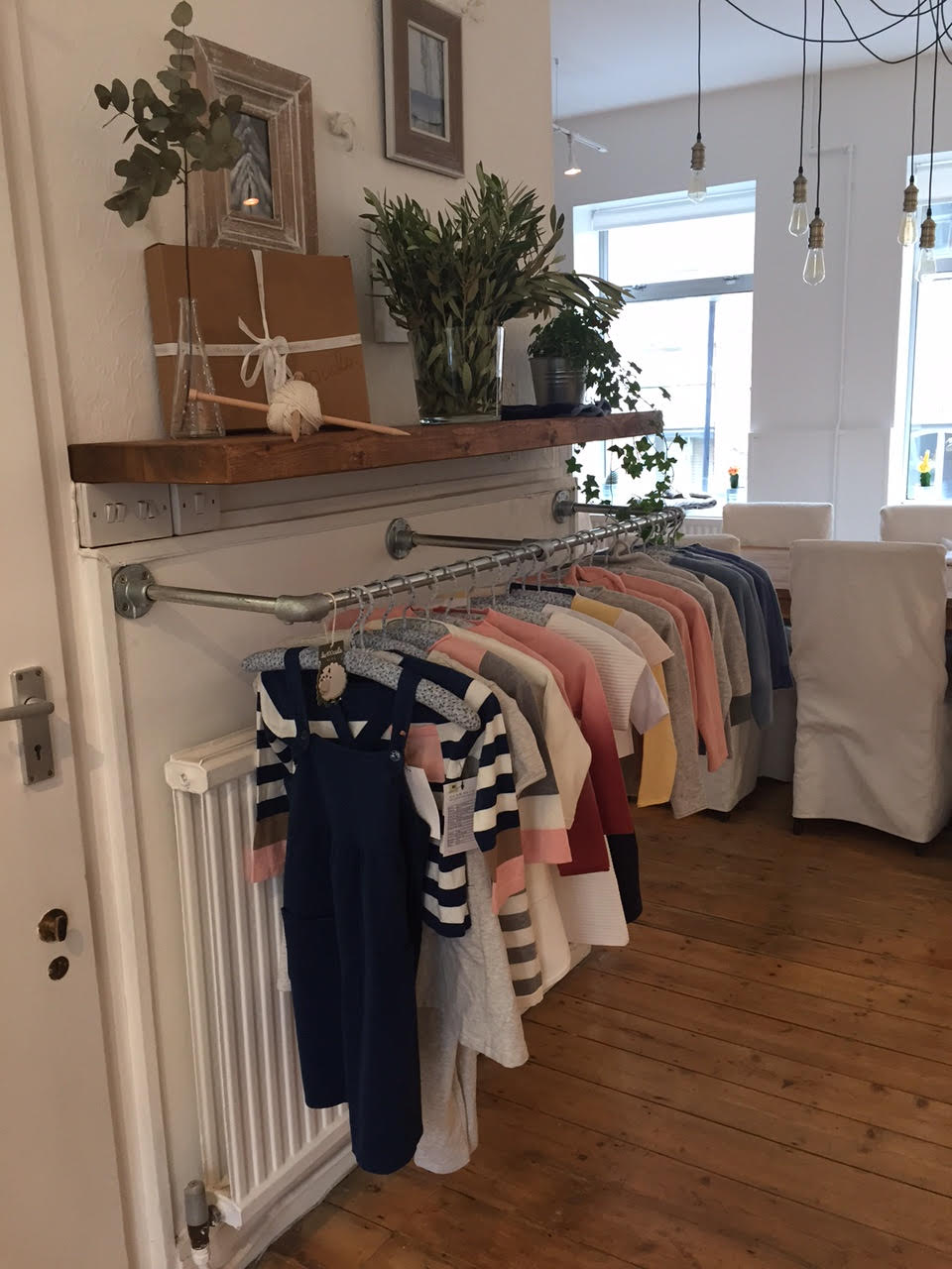 Custom clothing rails