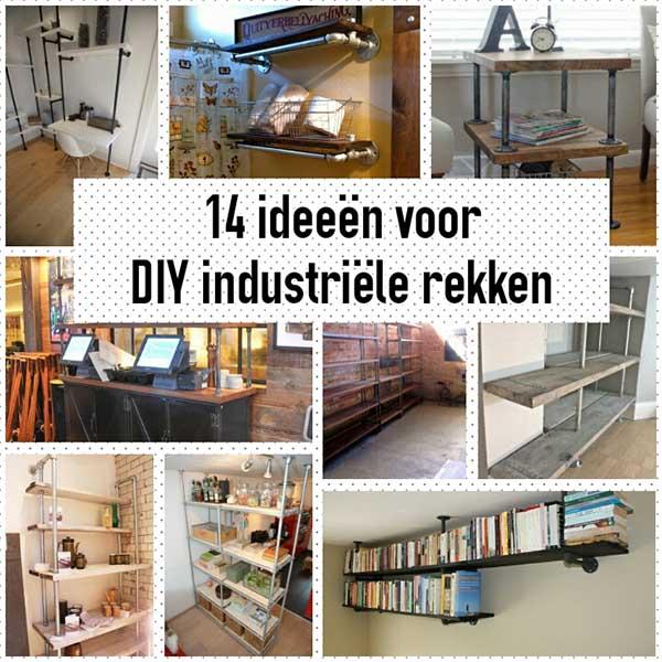 Industriële DIY rekken