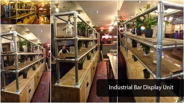 industrial bar display