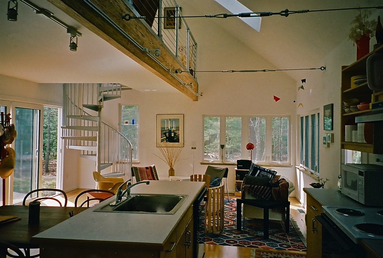 Kee Klamp architect project loft railing