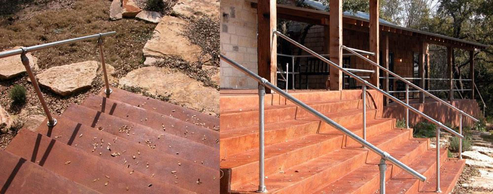 kee klamp handrails
