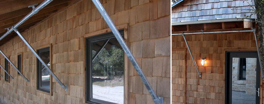 kee klamp awning support