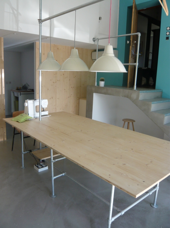Meuble design industriel