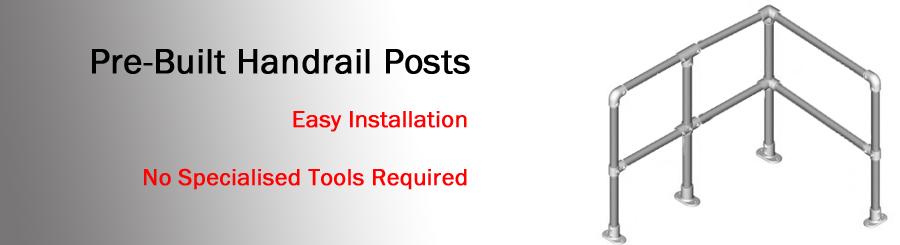 pre-built handrail posts