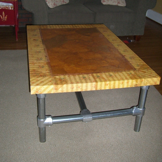 La table basse rénovée