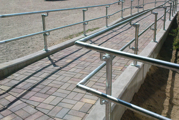Handicap Railing Design