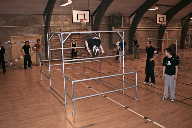 Portable Parkour Structure