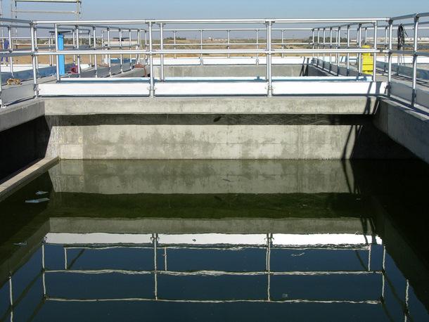 Water Treatment Aluminum Pipe Railing