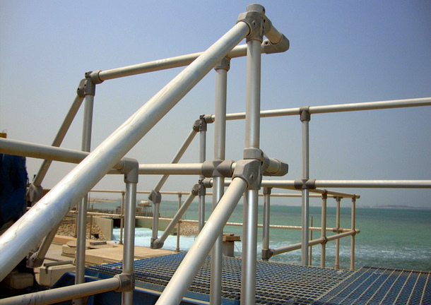 Easy to Install Aluminum Pipe Railing