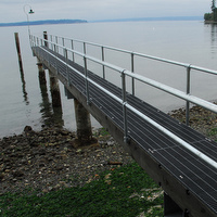 Pier / Dock Pipe Railing