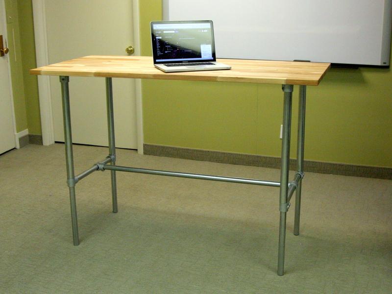 Adjustable Standing Desk Ikea >> Adjustable Height Sitting and Standing Desk