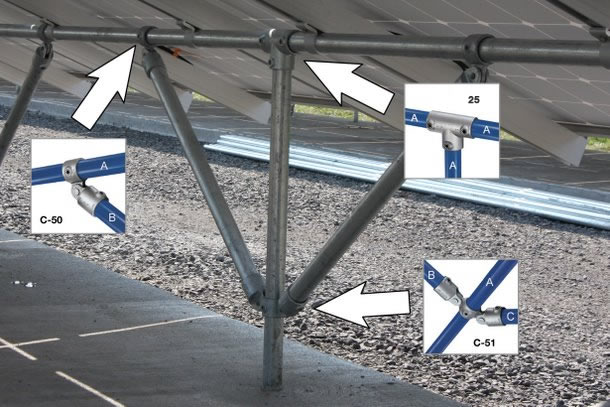 How to Build a Solar Panel Frame | Simplified Building