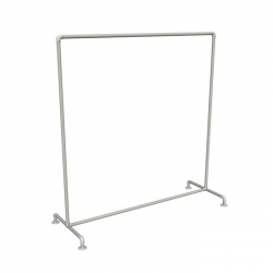 Free Standing Retail Clothing Rack - Single