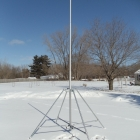 DIY Endzone Camera with Flag Pole