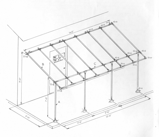 pdf diy how to build a wood awning frame download small