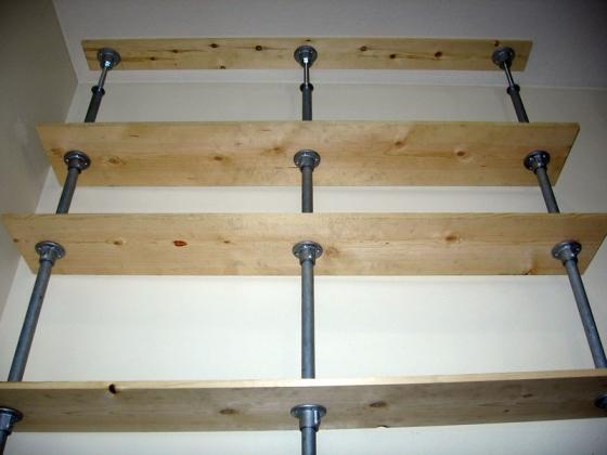 Zero point shelf project simplified building - Etagere sans fixation apparente ...