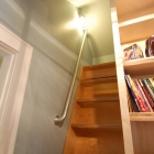 Simple Wall Rail Used in Child Sleeping Loft