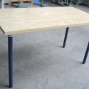 DIY Pipe Table - Use With Any Wood Table Top