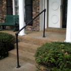 Simple Handrail for Steps Promotes Elderly Mobility