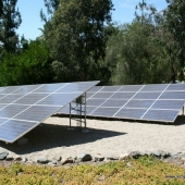 Solar Panel Support System