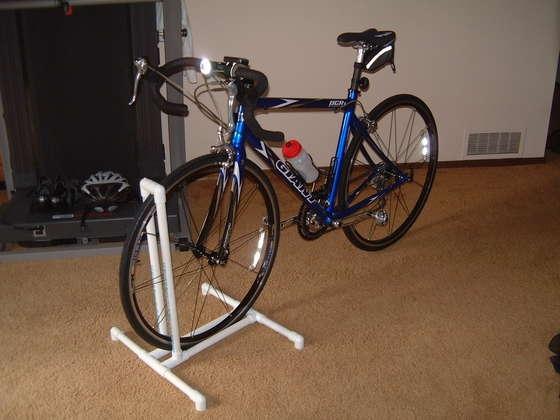 pvc bike rack project simplified building