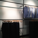 DIY Garment Rack For Men's Clothing Showroom