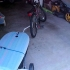 Bike Trailer with Board
