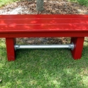 Garden Bench with Kee Lite Accent