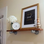 DIY Bathroom Shelf (For the Non-DIYer)