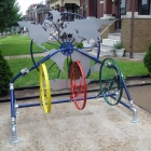 Boomerracks is Upcycling Old Bikes into Community Made Bike Racks