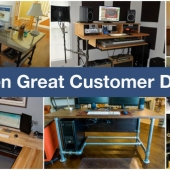 7 Great Customer Desk Projects