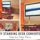 DIY Standing Desk Converter: Step-by-Step Plans