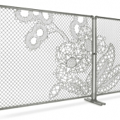 Good Fences Don't Make Good Neighbors… Unless it's a Lace Fence