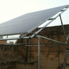 Solar Panel Support Structure Built in Malta