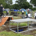 BMX Bike Display Obstacles Built with Kee Lite Fittings