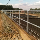 Over 1/2 mile of Kee Klamp Railing Installed at UK Water Treatment Facility