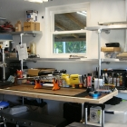 Custom Reloading Bench and Storage Shelves