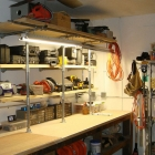 Man Cave Workshop Shelving Upgrade