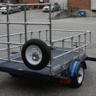 Custom ATV/OHV Trailer with Ramp & Gate