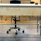 Sit / Stand Work Desk for the Grain & Mortar Studio